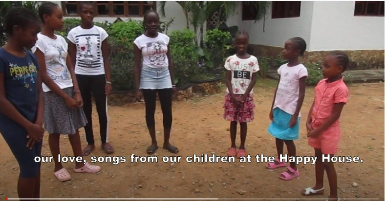 For the next few Sundays songs from our children at the Happy House